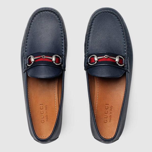 Kết quả hình ảnh cho giày lười gucci chính hãng